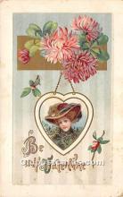 val002228 - Valentines Day Post Cards Old Vintage Antique Postcards