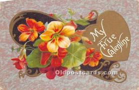 val002229 - Valentines Day Post Cards Old Vintage Antique Postcards