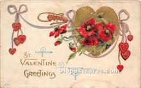 val002233 - Valentines Day Post Cards Old Vintage Antique Postcards