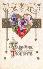 val003009 - Valentines Day Post Card Old Vintage Antique
