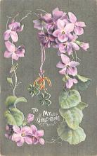 val003017 - Valentines Day Post Card Old Vintage Antique