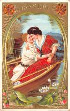 val003031 - Valentines Day Post Card Old Vintage Antique