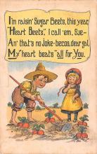 val003033 - Valentines Day Post Card Old Vintage Antique