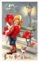 val003041 - Valentines Day Post Card Old Vintage Antique
