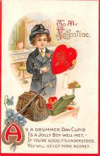 val003057 - Valentines Day Post Card Old Vintage Antique