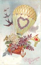 val003069 - Valentines Day Post Card Old Vintage Antique