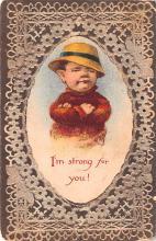 val003083 - Valentines Day Post Card Old Vintage Antique