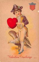 val003097 - Valentines Day Post Card Old Vintage Antique