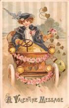 val003099 - Valentines Day Post Card Old Vintage Antique