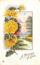 val003117 - Valentines Day Post Card Old Vintage Antique