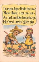 val003123 - Valentines Day Post Card Old Vintage Antique