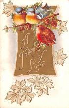 val003127 - Valentines Day Post Card Old Vintage Antique