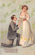 val003169 - Valentines Day Post Card Old Vintage Antique