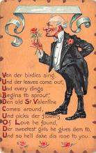 val003181 - Valentines Day Post Card Old Vintage Antique
