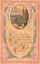 val003191 - Valentines Day Post Card Old Vintage Antique