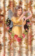 val003195 - Valentines Day Post Card Old Vintage Antique