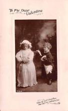 val003209 - Valentines Day Post Card Old Vintage Antique