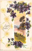 val003211 - Valentines Day Post Card Old Vintage Antique