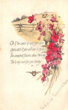 val003213 - Valentines Day Post Card Old Vintage Antique