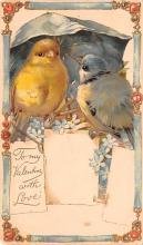val003221 - Valentines Day Post Card Old Vintage Antique