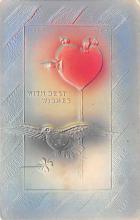 val003227 - Valentines Day Post Card Old Vintage Antique