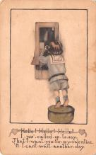val003235 - Valentines Day Post Card Old Vintage Antique