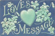 val003323 - Valentines Day Post Card Old Vintage Antique