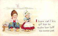 val003329 - Valentines Day Post Card Old Vintage Antique