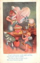 val003369 - Valentines Day Post Card Old Vintage Antique