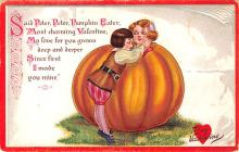 val003387 - Valentines Day Post Card Old Vintage Antique