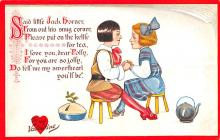 val003397 - Valentines Day Post Card Old Vintage Antique