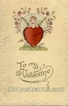 val050001 - Valentines Day Postcard Postcards