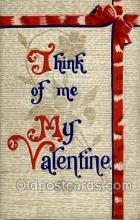 val050002 - Valentines Day Postcard Postcards