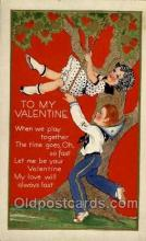 val050120 - Valentines Day Postcard Postcards