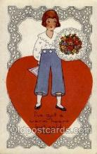 val050155 - Valentines Day Postcard Postcards
