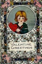 val050212 - Valentines Day Postcard Postcards