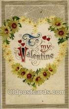val050291 - Valentines Day Postcard Postcards