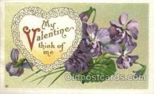 val050314 - Valentines Day Postcard Post Cards
