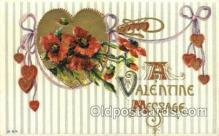 val050315 - Valentines Day Postcard Post Cards