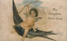 val050333 - Silk Publisher John Winsch Valentines Day Postcard Post Cards