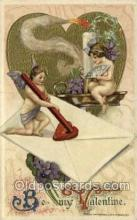 val050352 - Artist Schmucker, Publisher John Winsch Valentines Day Postcard Post Cards