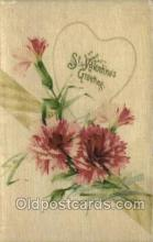 val050399 - Silk Valentines Day Postcard Post Cards