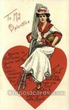 val050414 - Artist HBG Valentines Day Postcard Post Cards