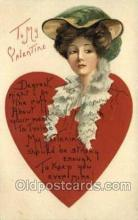 val050415 - Artist HBG Valentines Day Postcard Post Cards
