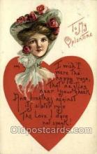val050418 - Artist HBG Valentines Day Postcard Post Cards