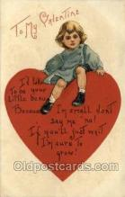 val050423 - Artist HBG Valentines Day Postcard Post Cards