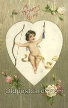 val050474 - Winsch Valentines Day, Old Vintage Antique Postcard Post Card