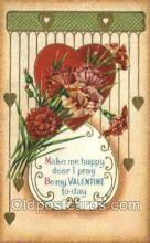 val050478 - Valentines Day, Old Vintage Antique Postcard Post Card
