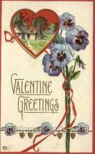 val050488 - Valentines Day, Old Vintage Antique Postcard Post Card