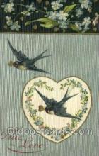 val050491 - Winsch Valentines Day, Old Vintage Antique Postcard Post Card